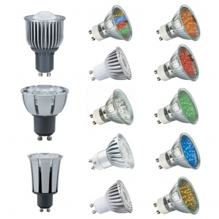 Paulmann LED Leuchtmittel GU10 Fassung 230V Lampen Power LED