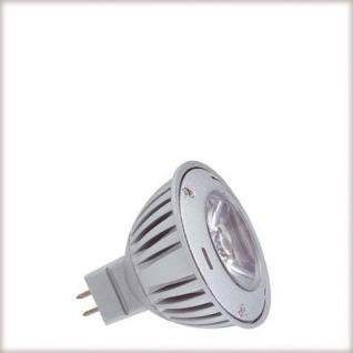 LED Reflektor 1W GU5, 3 12V 51mm Tageslichtweiß