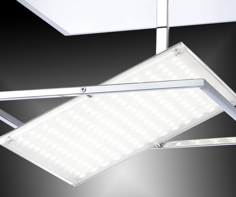 30w led deckenleuchte paul neuhaus 8066 17 warmwei 3000 kelvin lumen chrom kaufen bei. Black Bedroom Furniture Sets. Home Design Ideas