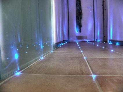 Fliesen Fugen Kreuz LED Einbauspot Licht Beleuchtung Fugenlicht Fliesenlicht