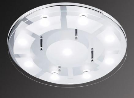 Deckenlampe Design Decken Leuchte Deckenlampe Beleuchtung Chrom ...