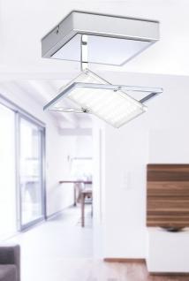 4W LED Deckenleuchte Paul Neuhaus 8064-17 Warmweiß 3000 Kelvin 400 Lumen Chrom - Vorschau 5