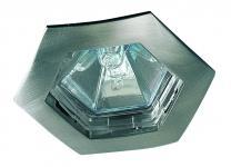 995.67 Paulmann Einbauleuchten Premium EBL Set Hexa 4x35W 150VA 230/12V GU5, 3 79mm Eisen gebürstet/Alu Zink