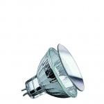 832.31 Paulmann 12V Fassung Security Halogen Reflektor mit Schutzglas 35W GU5, 3 12V 51mm Silber