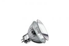 832.30 Paulmann 12V Fassung Security Halogen Reflektorl Schutzgl. FMW flood 38° 35W GU5, 3 12V 51mm Silber