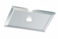 Star EBL Set quadratisch LED 10x0, 25W 15VA 230/12V 63mm Spiegel Silber/Metall/Glas