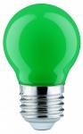 280.32 Paulmann E27 Fassung LED Tropfen 0, 6W E27 Grün