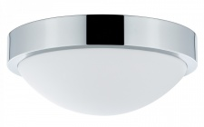 708.06 Paulmann Leuchten WallCeiling Falima IP44 max.18W 260mm E27 Chrom/Weiß 230V Metall/Acryl