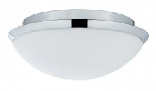 708.04 Paulmann Leuchten WallCeiling Biabo IP44 max.18W 250mm E27 Chrom/Weiß 230V Metall/Acryl