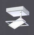 12W LED Deckenleuchte Paul Neuhaus 8065-17 Warmweiß 3000 Kelvin 1.440 Lumen Chrom