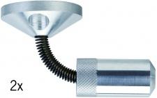 178.08 Paulmann Seil Zubehör Wire System Light&Easy Wandspanner flexibel 1 Paar 42mm Chrom matt Metall
