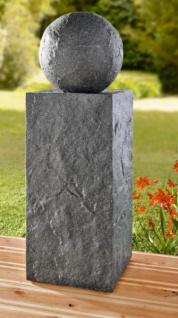 """DEKO-SÄULE """" Granit"""" POLYSTEIN 65 cm hoch NEU ohne KUGEL GARTEN DEKO SÄULE"""