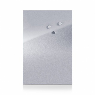 ZELLER EDELSTAHL MAGNETTAFEL 40x60 cm inkl. Magnete NEU PINNWAND MEMOBOARD