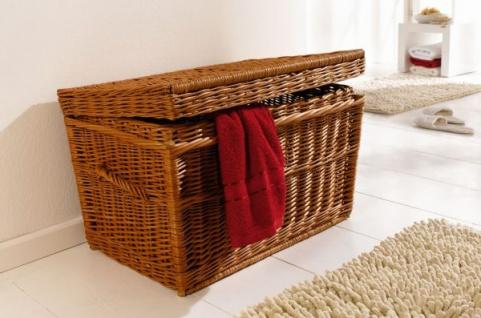 Wäschetruhe Weide wäschekorb geflochten bestellen bei yatego