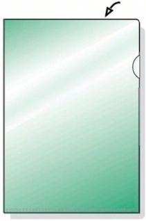 250 STÜCK HETZEL TOP QUALITY SICHTHÜLLE PP 0, 15mm A4 grün glänzend AKTENHÜLLE