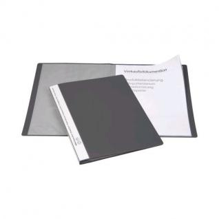10x BIELLA SICHTBUCH grau mit 10 A4 SICHTHÜLLEN für 20 Blatt NEU SICHTMAPPE