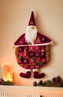 adventskalender holz kalender weihnachten kamin rot merry. Black Bedroom Furniture Sets. Home Design Ideas