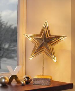 Metall deko stern g nstig online kaufen bei yatego - Led fensterdeko weihnachten ...