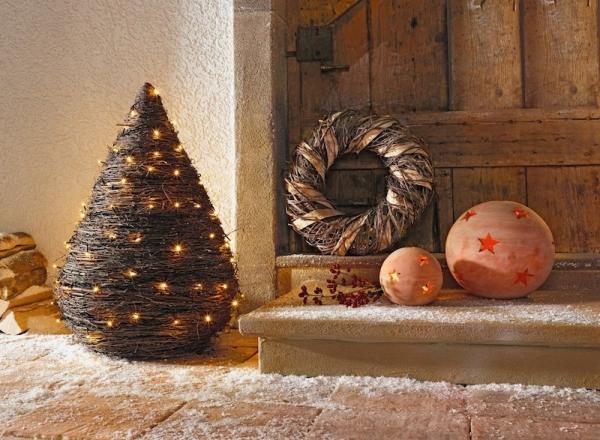 dekokranz birkenstreifen naturkranz reisigkranz wandkranz t rkranz weihnachten kaufen bei. Black Bedroom Furniture Sets. Home Design Ideas