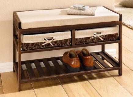sitzbank mit k rben online bestellen bei yatego. Black Bedroom Furniture Sets. Home Design Ideas