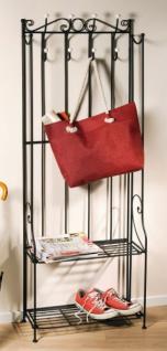 metall garderobe schwarz g nstig kaufen bei yatego. Black Bedroom Furniture Sets. Home Design Ideas