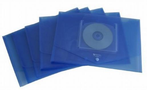 50 x REXEL ICE DOKUMENTENTASCHE A4 mit CD FACH blau DOKUMENTENMAPPE SAMMELMAPPE