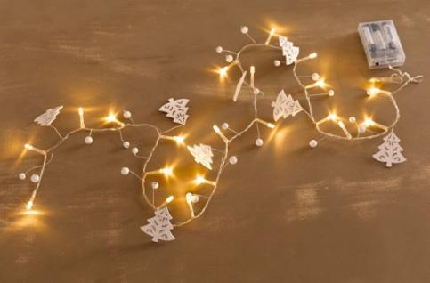 LED-LICHTERKETTE Schneetanne WARMWEISS LICHTSCHLAUCH WEIHNACHTEN WEIHNACHTSDEKO
