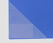 100x DREIECK SICHTTASCHE selbstklebend mit VISITENKARTENTASCHE für Ordner Mappen