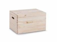 KESPER ALLZWECKKISTE mit Deckel Kiefer AUFBEWAHRUNGSBOX HOLZ KISTE 40X30X23cm
