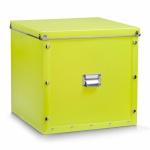 ZELLER KUNSTSTOFF AUFBEWAHRUNGSBOX mit DECKEL grün 33, 5x33x32 BOX KISTE