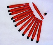 12 NOBO ProStyle FLIPCHART & WHITEBOARD MARKER STIFTE rot NEU