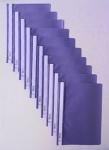 100 SCHNELLHEFTER HEFTER A4 PP lila violett NEU SCHULHEFTER SICHTHEFTER