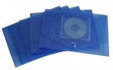 5x REXEL ICE DOKUMENTENTASCHE A4 mit CD FACH blau DOKUMENTENMAPPE SAMMELMAPPE