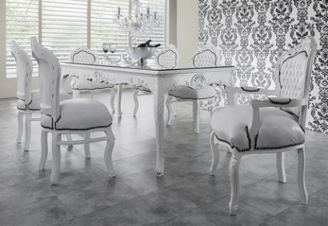 esstisch wei g nstig sicher kaufen bei yatego. Black Bedroom Furniture Sets. Home Design Ideas