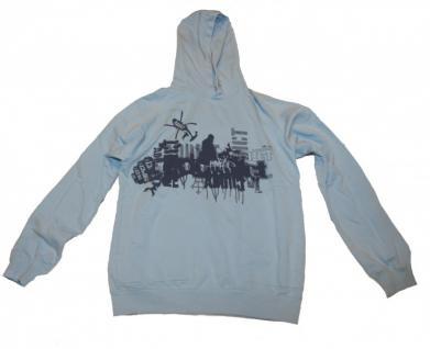 Addict Skateboard Hoodie Sweater Sky Blue Sweater