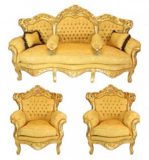 barock sessel set g nstig online kaufen bei yatego. Black Bedroom Furniture Sets. Home Design Ideas