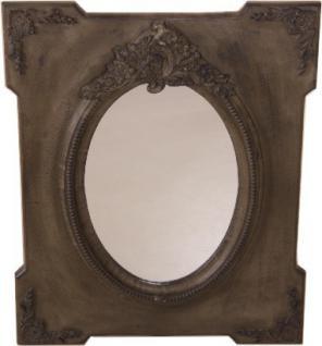 casa padrino jugendstil antik shabby chic wandspiegel antik look grau braun 80 x 65 cm spiegel. Black Bedroom Furniture Sets. Home Design Ideas
