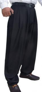 Il Padrino Moda Luxus Bundfalten Hose Schwarz