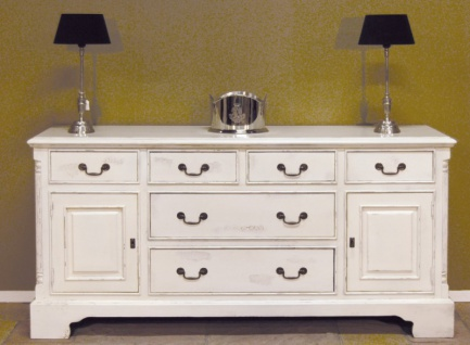 shabby sideboard weiss online bestellen bei yatego. Black Bedroom Furniture Sets. Home Design Ideas