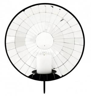 casa padrino wand kerzenhalter mit spiegel satelitte wandkerzenhalter kaufen bei demotex gmbh. Black Bedroom Furniture Sets. Home Design Ideas