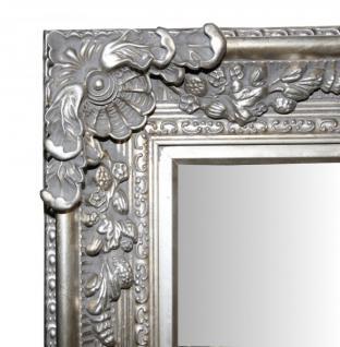 casa padrino barock wandspiegel silber antik look h he 153 cm breite 94 cm edel prunkvoll. Black Bedroom Furniture Sets. Home Design Ideas
