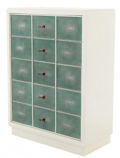 Casa Padrino Luxus Mahagoni Schrank 96, 5 x 47, 5 x H. 130 cm - Designer Möbel