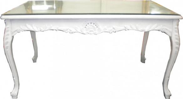 Barock tisch wei g nstig online kaufen bei yatego for Esstisch marmor weiss
