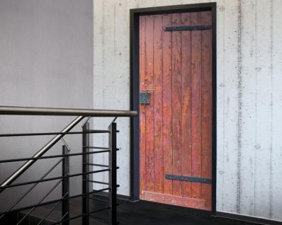 Tür 2.0 XXL Wallpaper für Türen 20007 Oberberg - selbstklebend- Blickfang für Ihr zu Hause - Tür Aufkleber Tapete Fototapete FotoTür 2.0 XXL Vintage Antik Stil Retro Wallpaper Fototapete