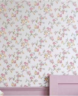 Graham & Brown Barock Landhaus Stil Tapete Rose Cottage Vliestapete Vlies Mod 50-444
