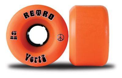 Retro Longboard Rollen Set VertZ 96A 65mm Wheel Set Wheels Skateboard