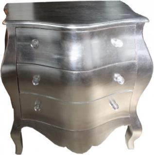 lange barock kommode fernsehschrank sideboard silber 170cm unikat kaufen bei demotex gmbh. Black Bedroom Furniture Sets. Home Design Ideas