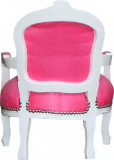 casa padrino barock kinder chaiselongue lila silber kinderm bel pictures to pin on pinterest. Black Bedroom Furniture Sets. Home Design Ideas