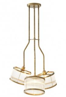 Casa Padrino Luxus Deckenleuchte Durchmesser 70 x H. 119 cm - Möbel Lüster Leuchter Deckenlampe
