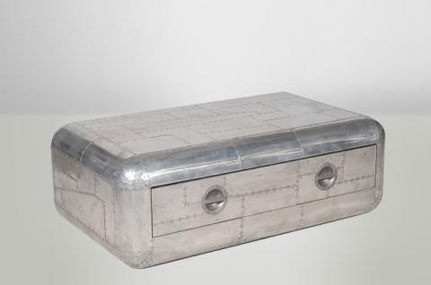 Aluminium couchtisch online bestellen bei yatego for Designer couchtisch alu